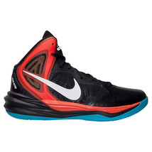 Men's Nike Prime Hype DF Basketball Shoes 683705 004 Size 12 Black/White... - $79.95