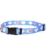 Large Go Fish Dog Collar 18-28 inch - $11.79