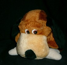 "8"" Vintage Ace Novelty Brown Tan Puppy Dog Pup Stuffed Animal Plush Toy W/ Bone - $23.01"