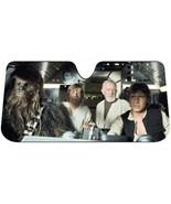 NEW! Star Wars Millennium Falcon Car Auto Windshield Sun Shade Sunshade ... - $475,05 MXN