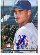 Jose Paniagua autographed Baseball Card (Montreal Expos) 1994 Bowman #32 - $13.00