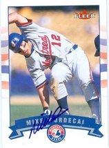 Mike Mordecai autographed Baseball Card (Montreal Expos) 2002 Fleer #239 - $13.00