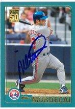 Mike Mordecai autographed Baseball Card (Montreal Expos) 2001 Topps #549 - $13.00