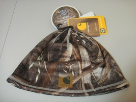 Carhartt Force Unisex Lewisville Beanie Hat Realtree Max5 Camo One Size ... - $26.14