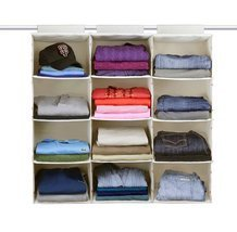 The G.U.S No-Sag Hanging Essential 4-Shelf Clos... - $63.67