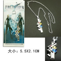 Final Fantasy 13 FF XIII-2 Lightning Cosplay Necklace Chain Pendant - $9.99