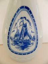 Jim Beam 60s Decanter Delft Bottle Windmill Sailboat Mid Century Barware - $9.49