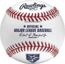 Rawlings Official Tampa Bay Rays 20th Anniversary MLB Game Baseball Boxed  - $21.39