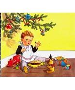 "Vintage ""Little Jack Horner"" Nursery Rhyme Print - $8.99"