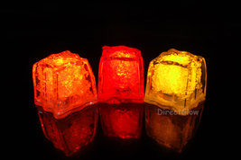 LiteCubes Light Up LED Ice Cubes Fall Pack- 3pc Set - $11.65 CAD