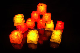 LiteCubes Light Up LED Ice Cubes Fall Pack- 12pc Set - $32.49 CAD