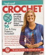 Free Ship I Taught Myself Crochet Book From Boy... - $9.99