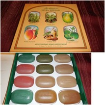 VTG Ben Rickert Collection 12 Bath Soap Bars Mo... - $18.79
