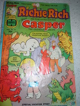 Richie Rich and Casper the Friendly Ghost Comic Aug 1977 - $4.99