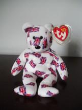 TY-JACK-Beanie-bear-black-nose-born-6-14-2003-beautiful-condition-mwmt TY-JACK - $15.79