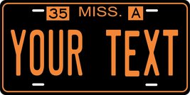 Mississippi 1935 Personalized Tag Vehicle Car Auto License Plate - $16.75