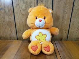 "Play Along Care Bears Laugh-a-Lot Bear Soft 13"" Plush w/ Star Symbol 200... - $12.36"