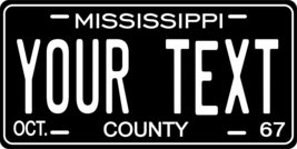 Mississippi 1967 Personalized Tag Vehicle Car Auto License Plate - $16.75