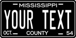 Mississippi 1954 Personalized Tag Vehicle Car Auto License Plate - $16.75
