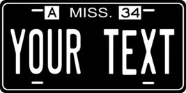 Mississippi 1934 Personalized Tag Vehicle Car Auto License Plate - $16.75