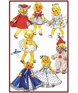"Vintage Doll Clothing Pattern for 8"" Dolls ~ No. 2 - $7.99"