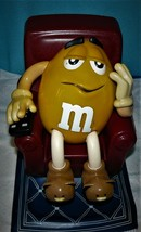 Yellow P EAN Ut M&M Recliner W-REMOTE Candy Dispenser Collectible - $20.37