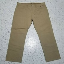 Men's Izod Pants ~ Sz 40W 28L ~ Light Brown ~ 100% Cotton - $18.80