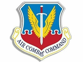 """Usaf Air Force Air Combat Acc Command Car Window 4"""" Sticker Decal Usa Made - $13.53"""