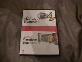 Adobe Photoshop Elements 5.0 and Premiere Elements 3.0 with Serial Numbers - $12.99
