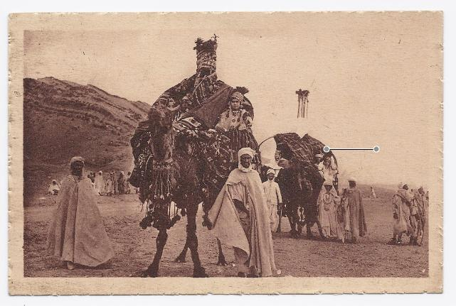 1925 - The Bassours in the Sahara Festival - Unused