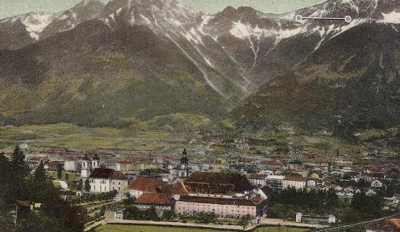 Primary image for 1930 - Innsbruck, Austria - A View to the North - Used