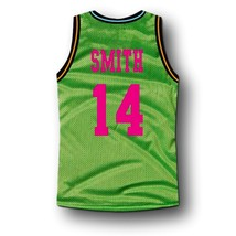 Smith #14 Bel-Air Academy Basketball Jersey Green Any Size image 2