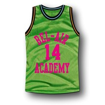 Smith #14 Bel-Air Academy Basketball Jersey Green Any Size image 4