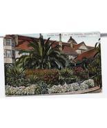 1954 - Garden Scene at the Hotel Redondo, Redondo, CA - Used - $4.99