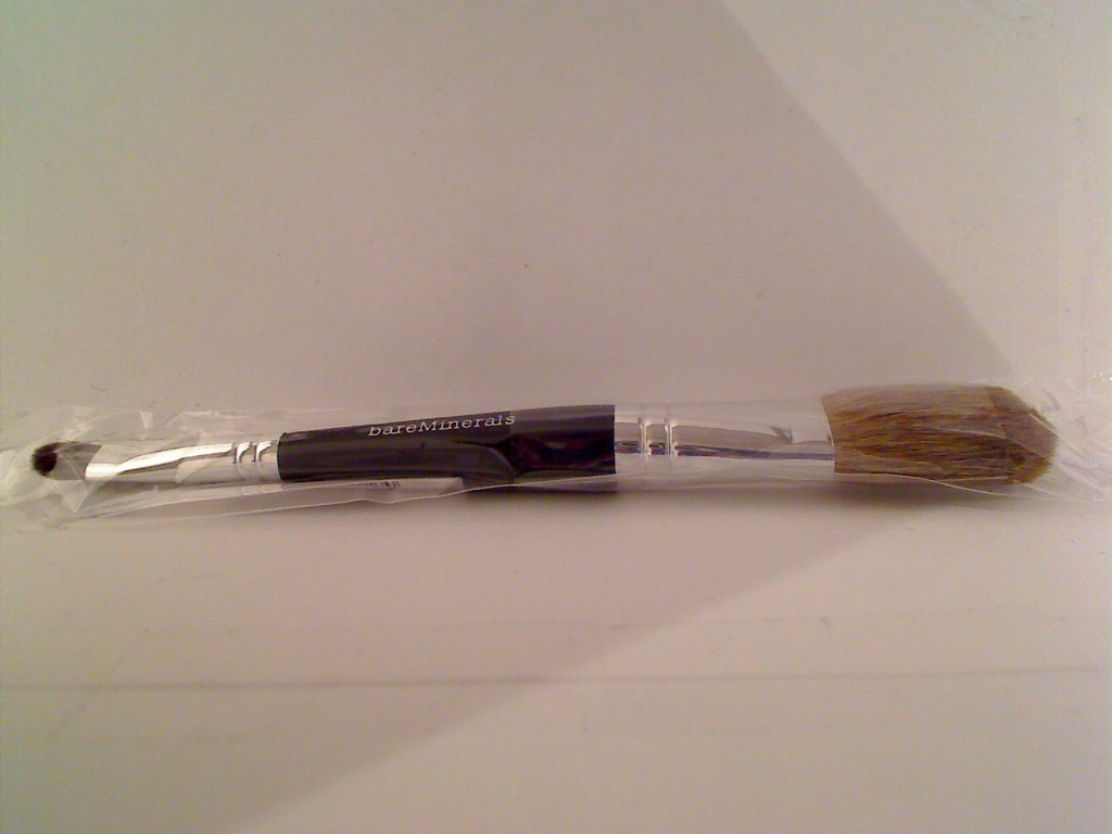 Bare Escentuals bareMinerals i.d. Double Ended Tapered Eye & Cheek Brush LE