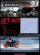 Yamaha DT125R DT 125R 125 R 6 Sigma Custom Carburetor Carb Stage 1-3 Jet Kit - $49.50