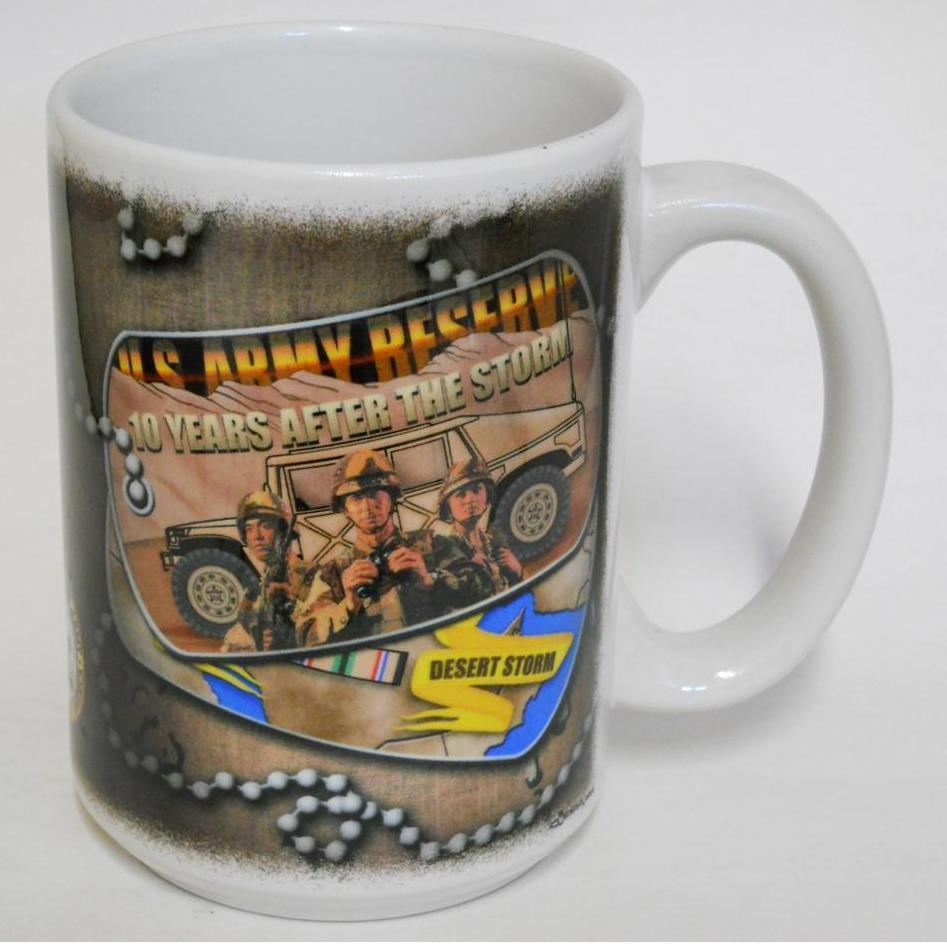 Primary image for 2000 CUPPA ~ U.S. Army Reserve ~ 10 Years After Desert Storm ~ Military Cup Mug