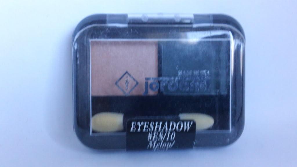 Jordana 2 Color Eyeshadow Duo ES 10 Melon Teal