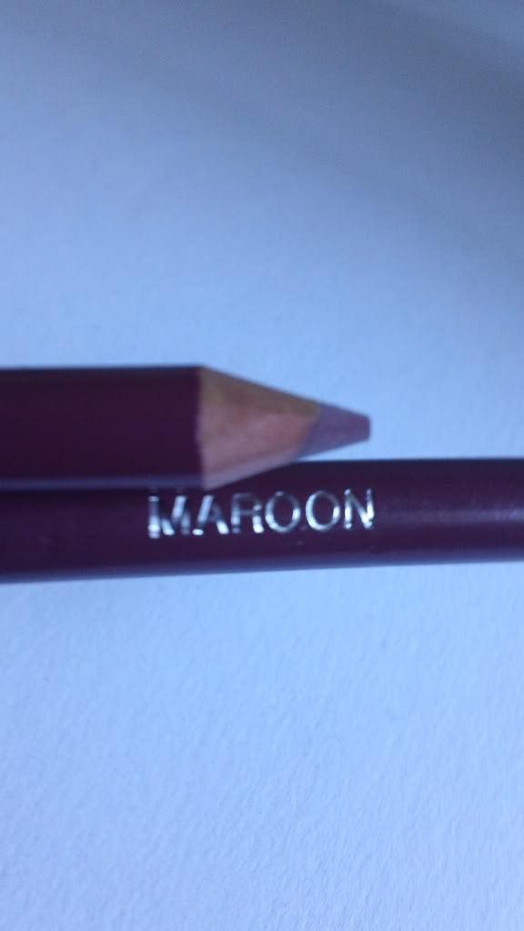 Jordana Lipliner Lip Liner Pencil Maroon