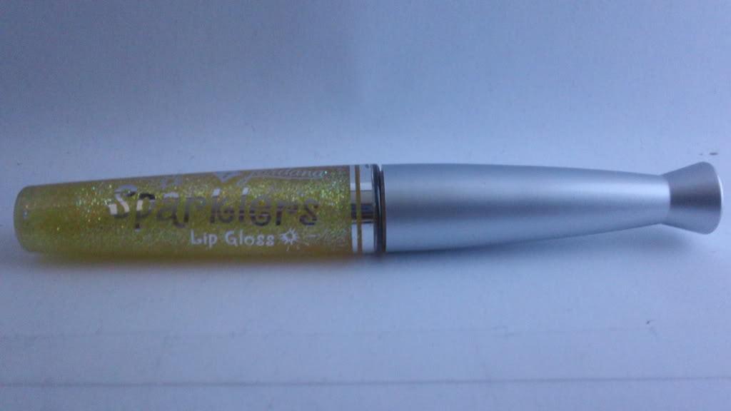 Jordana Sparklers Glitter Lip Gloss GL-10 Cinnamon yellow