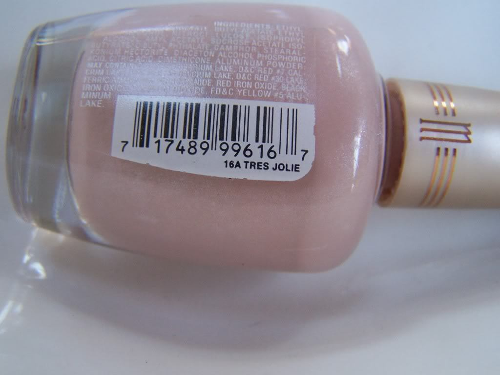 Primary image for Milani Nail Lacquer Color Polish 13A Tres Jolie Pink