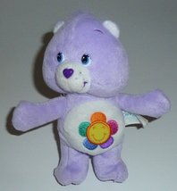 "2004 Care Bears 8"" Plush Harmony Bear Bean Bag Doll - $29.99"