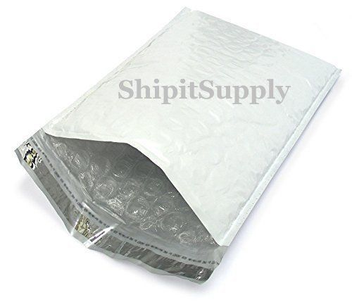 1-500 #000 4x8 ( White ) Poly Bubble Padded Envelopes Mailers Fast Shipping