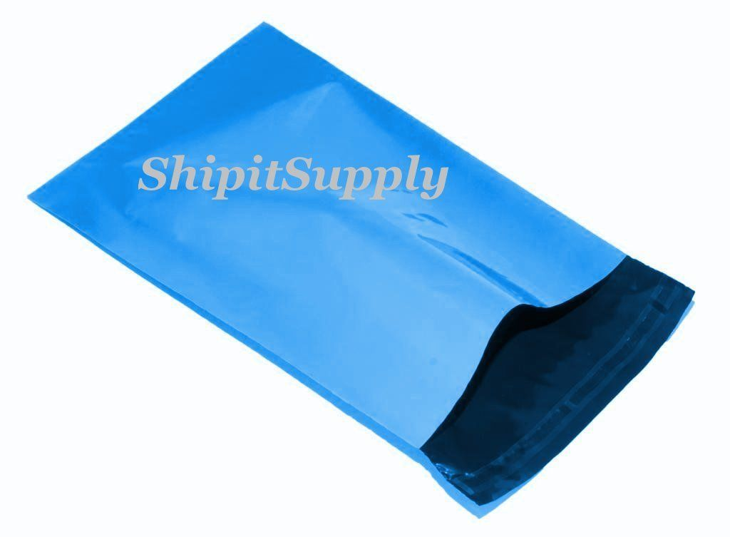2.5 Mil 1-1000 9x12 ( Blue ) Color Poly Mailers Shipping Boutique Bags