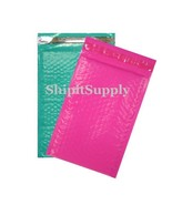 2-500 #000 Poly ( Pink & Teal ) Combo Color Bubble Padded Bubble Mailers... - $2.96+