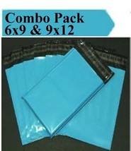 2.5 Mil 2-1000 6x9 9x12 ( Blue ) Combo Color  Poly Mailers Boutique Bags - $1.28+
