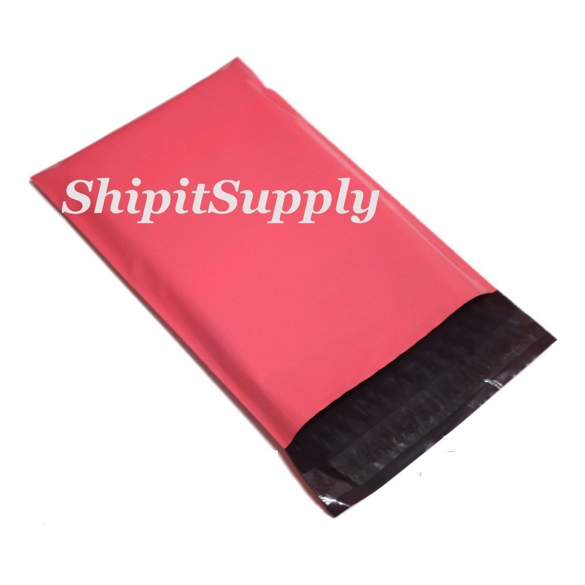2.5 Mil 1-1000 10x13 ( Pink ) Quality Color Poly Mailers Shipping Boutique Bags