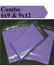 2.5 Mil 2-1000 6x9 9x12 ( Purple ) Combo Color  Poly Mailers Boutique Bags - $1.28+