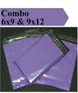 2.5 Mil 2-1000 6x9 9x12 ( Purple ) Color  Poly Mailers Boutique Fast Shi... - $1.29+