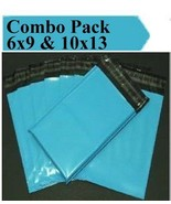 2.5 Mil 2-1000 6x9 10x13 ( Blue ) Combo Color  Poly Mailers Boutique Bags - $1.28+